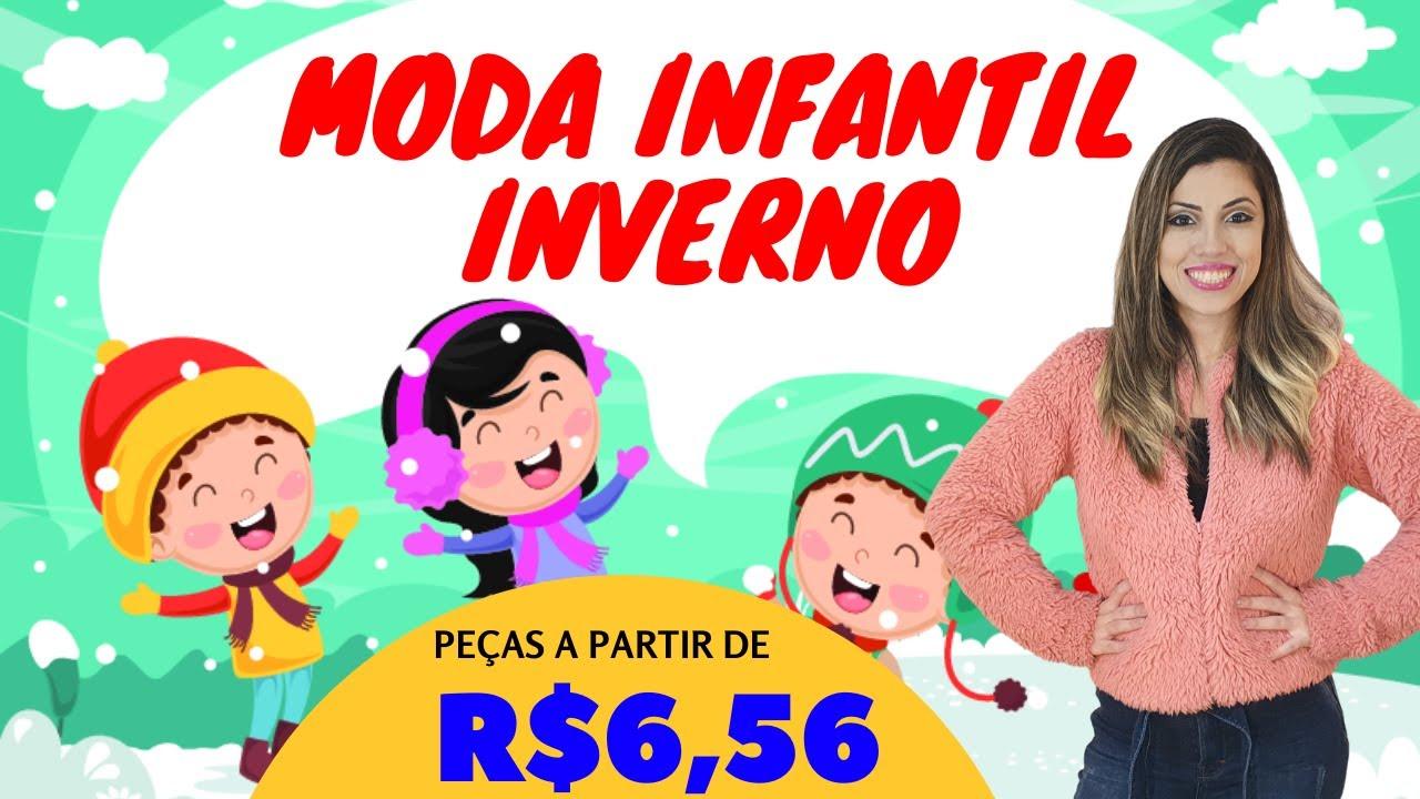 MODA INVERNO INFANTIL ATACADO (FÁBRICA EM SC)