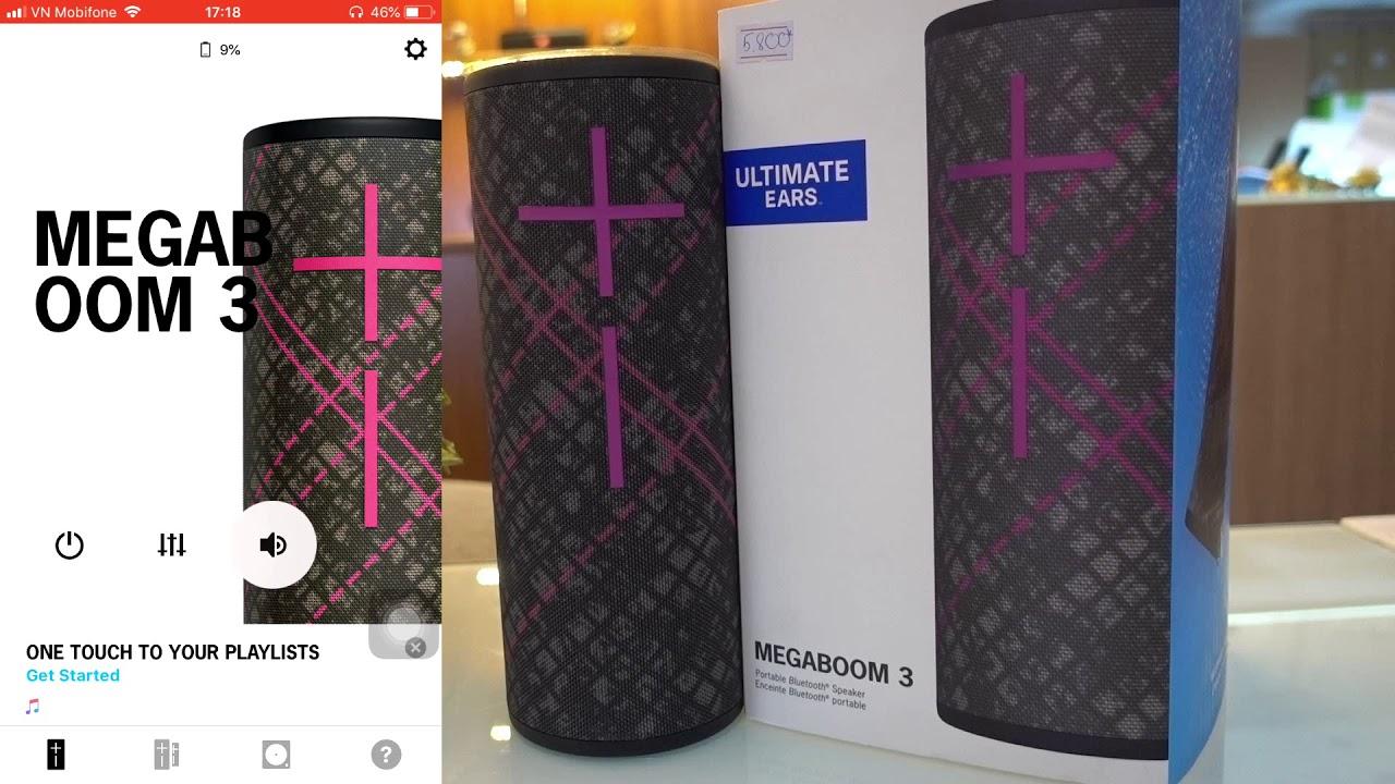 Cách cài đặt app MEGABOOM cho dòng loa của UE| Megaboom app for UE speaker