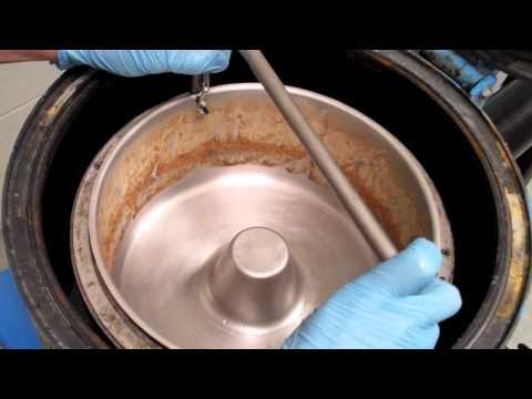 US Centrifuge Systems: Manganese Phosphate Liquid/Solid Separation