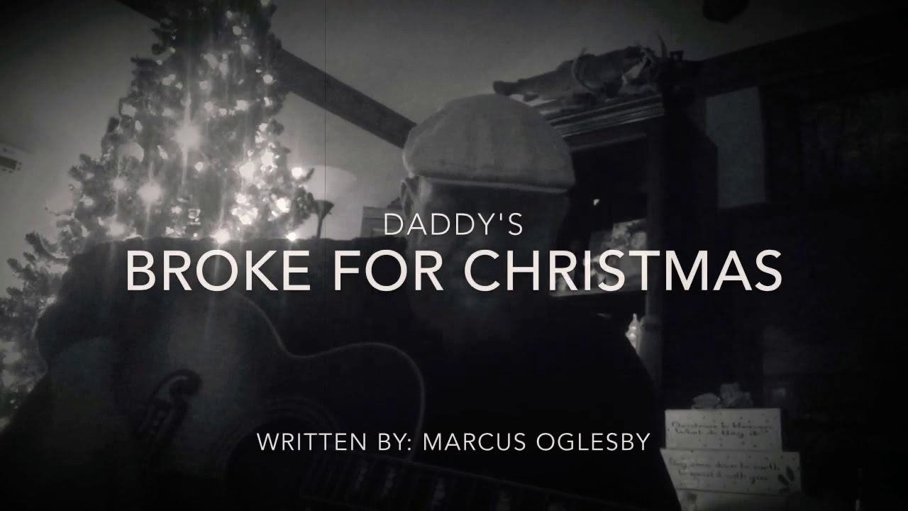 saddest christmas blues song goes to daddys broke for christmas by marcus oglesby from cdr - Christmas Blues Songs