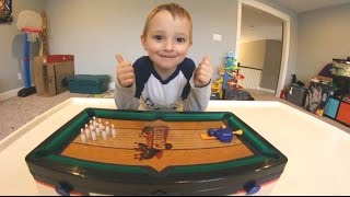 FATHER SON MINI BOWLING! (and More!) thumbnail