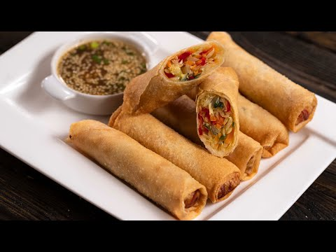 Vegetable Egg Rolls Fried or Baked