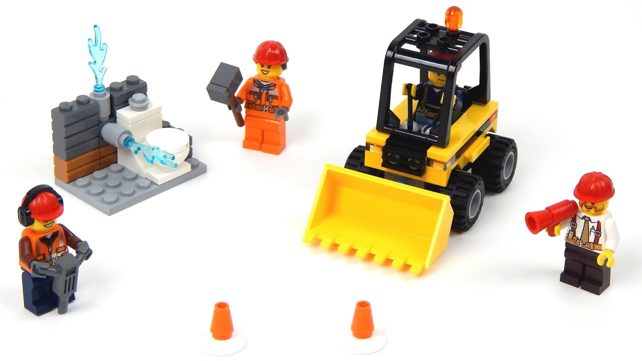 Lego City 60072 Demolition Starter Set Lego Speed Build - YouTube