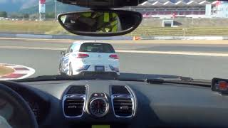 Enjoy the RacingLine Japan Golf R on track around Fuji