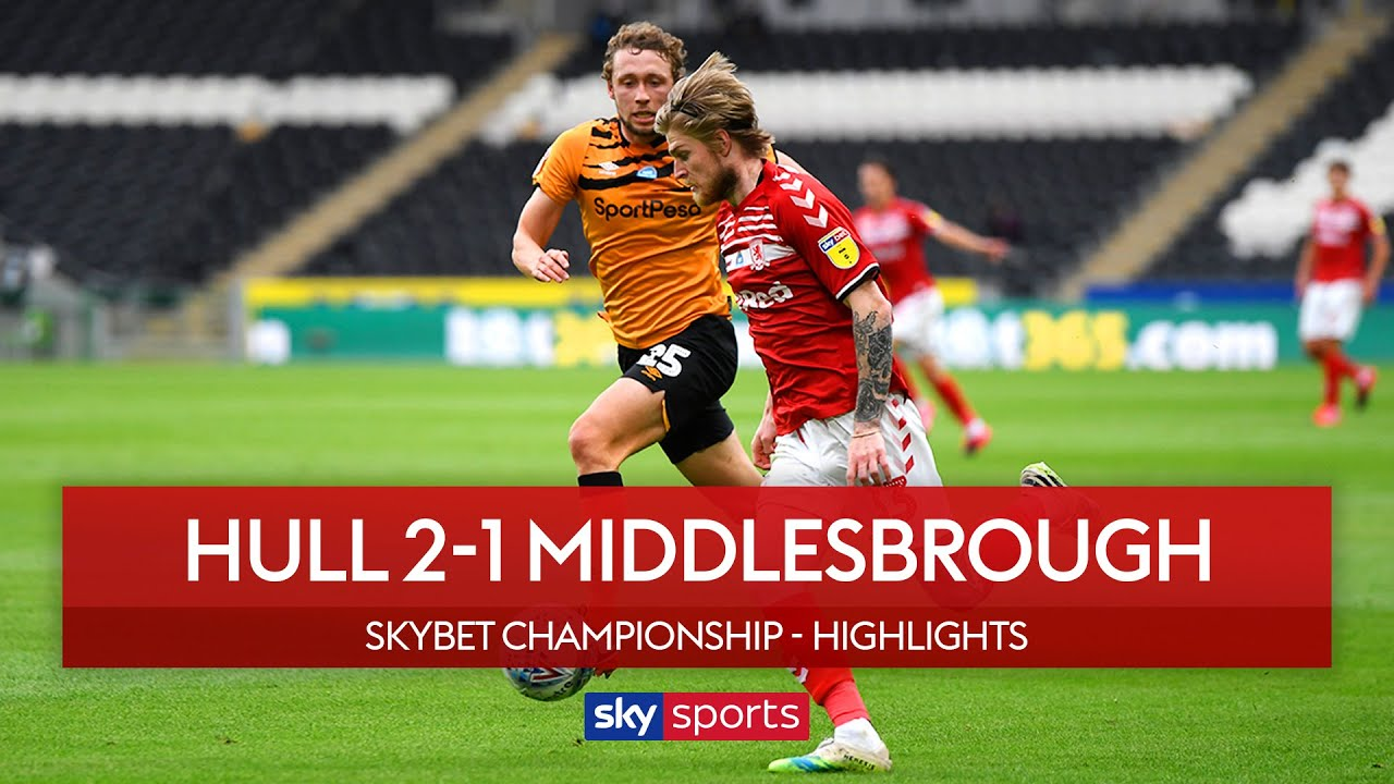 Hull score injury time winner to leapfrog 'Boro! | Hull 2-1 Middlesbrough | Championship Highlights