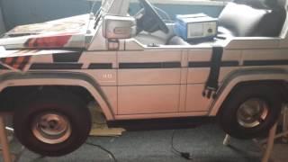 Доработка детского электромобиля