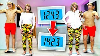 Who can GAIN the MOST WEIGHT in 24 Hours - Challenge thumbnail