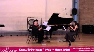 Trio Contrastes - Ritratti (Marco Nodari)