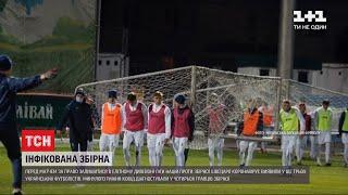 Делегацію української збірної з футболу відправили на карантин і скасували матч проти Швейцарії