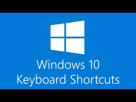 Windows 10 Keyboard Shortcuts!