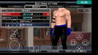 WWE SVR 2011 PSP AJ Stilleri oluşturma