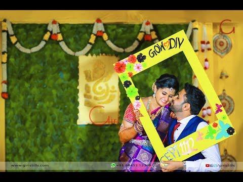 Kadhale Kadhale...   Wedding Invitation   Gowtham Dhivya   Giristills