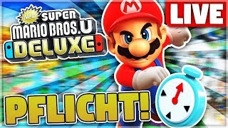 Viele Fails & neuer REKORD! - New Super Mario Bros.U Deluxe Speedrun - Livestream-Aufzeichnung