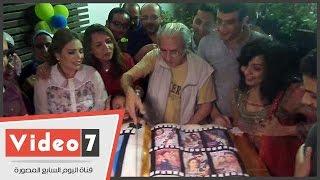 على بدرخان يحتفل بعيد ميلاده السبعين بحضور نجوم الفن