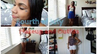 Fourth of July: 3 Outfits and Makeup Thumbnail