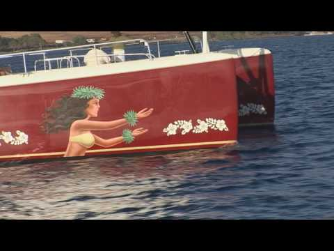 Hula Girl: Luxury Sailing On Maui