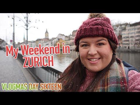 I Spent a Weekend in Zurich ❄️ VLOGMAS