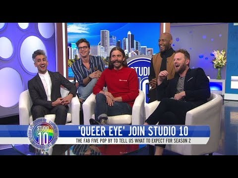'Queer Eye' Fab 5 Talk About Their Visit To The Town Of Yass    Studio 10