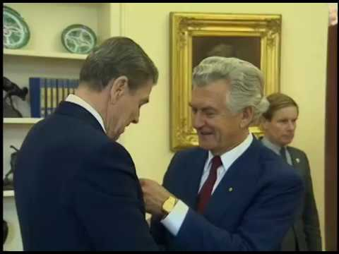 President Reagan's Meetings with Prime Minister Hawke of Australia on June 23, 1988