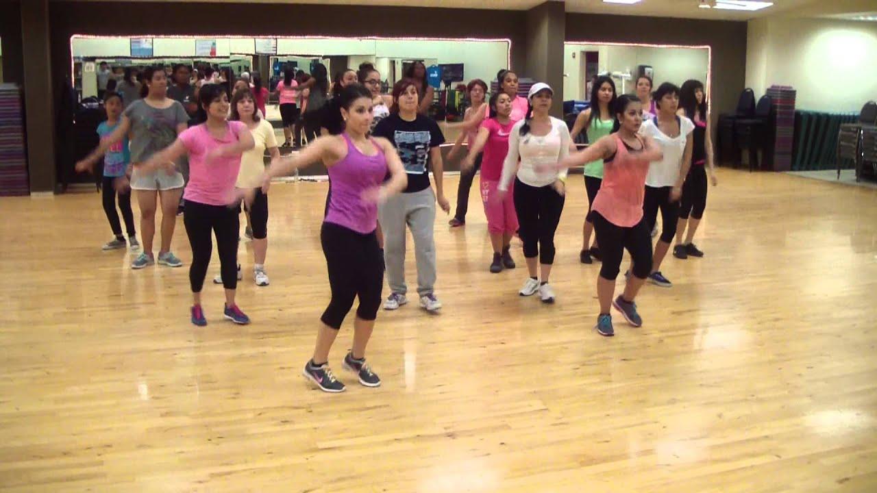 Zumba Dance Fitness Hit The Floor Youtube
