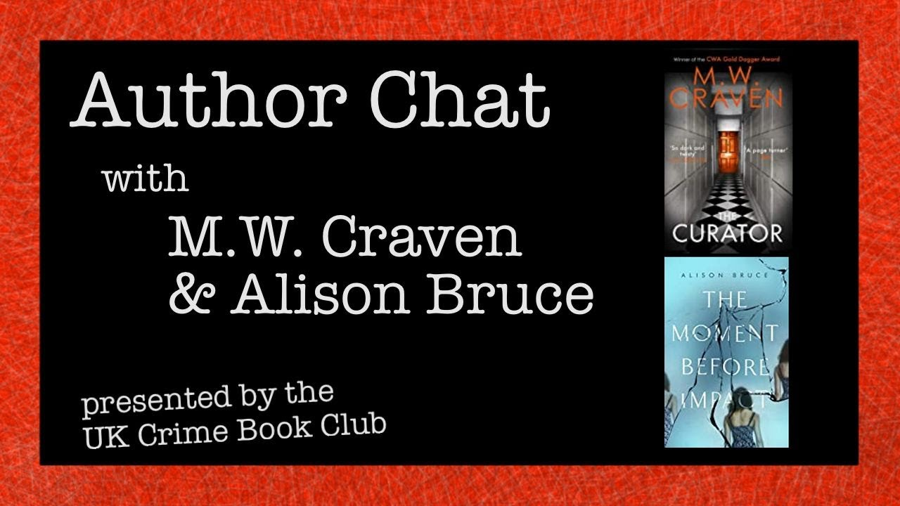 UK Crime Book Club with M.W. Craven