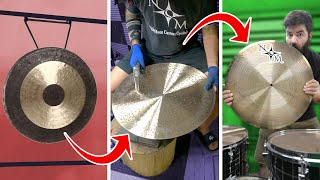 I Had My GONG Converted Into A FLAT RIDE By Nicky Moon Cymbals