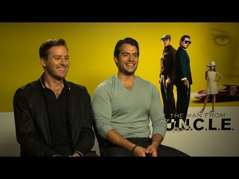 MAN FROM UNCLE Interviews: Henry Cavill, Guy Richie, Armie Hammer, Alicia Vikander