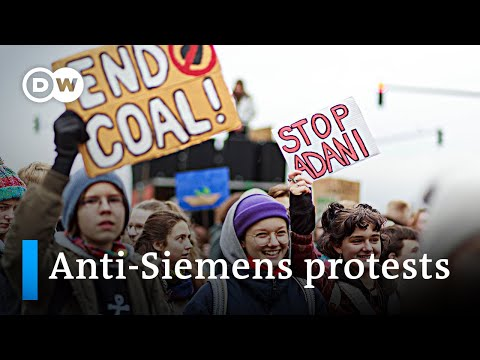 Siemens In Hot Water Over Australian Coal Mining Project | DW News