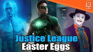 Justice League Favorite Easter Eggs & References