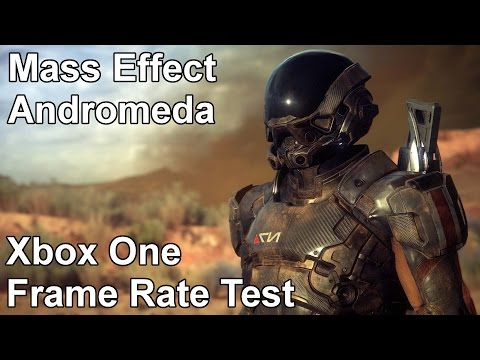 Mass Effect Andromeda Xbox One Frame Rate Test
