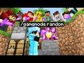 Minecraft Manhunt but item drops are RANDOM..