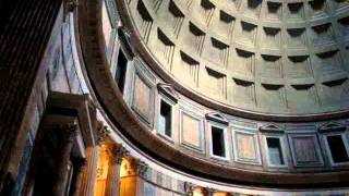 Inside the Pantheon - Rome, Italy