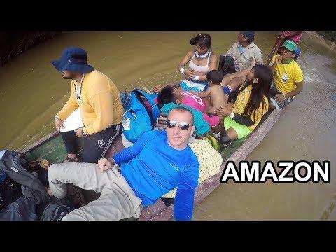 3 Aylık Amazon Yolculuğu - Amazon River Iquitos - Manaus - Macapa - Belem