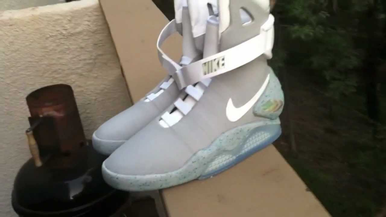 low cost ef92f 98c0c Nike Air Mag on Feet