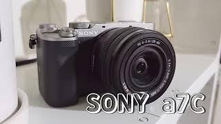 [unboxing] 내돈내산 소니a7c 카메라 언박싱 …