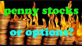 Penny Stocks vs. Options: Who Wins? // Options trading strategies, Penny stock trading basics 101