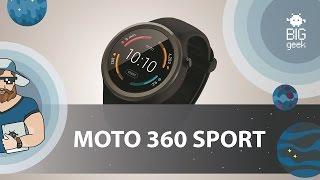 оБЗОР MOTOROLA MOTO 360 SPORT  BIG GEEK