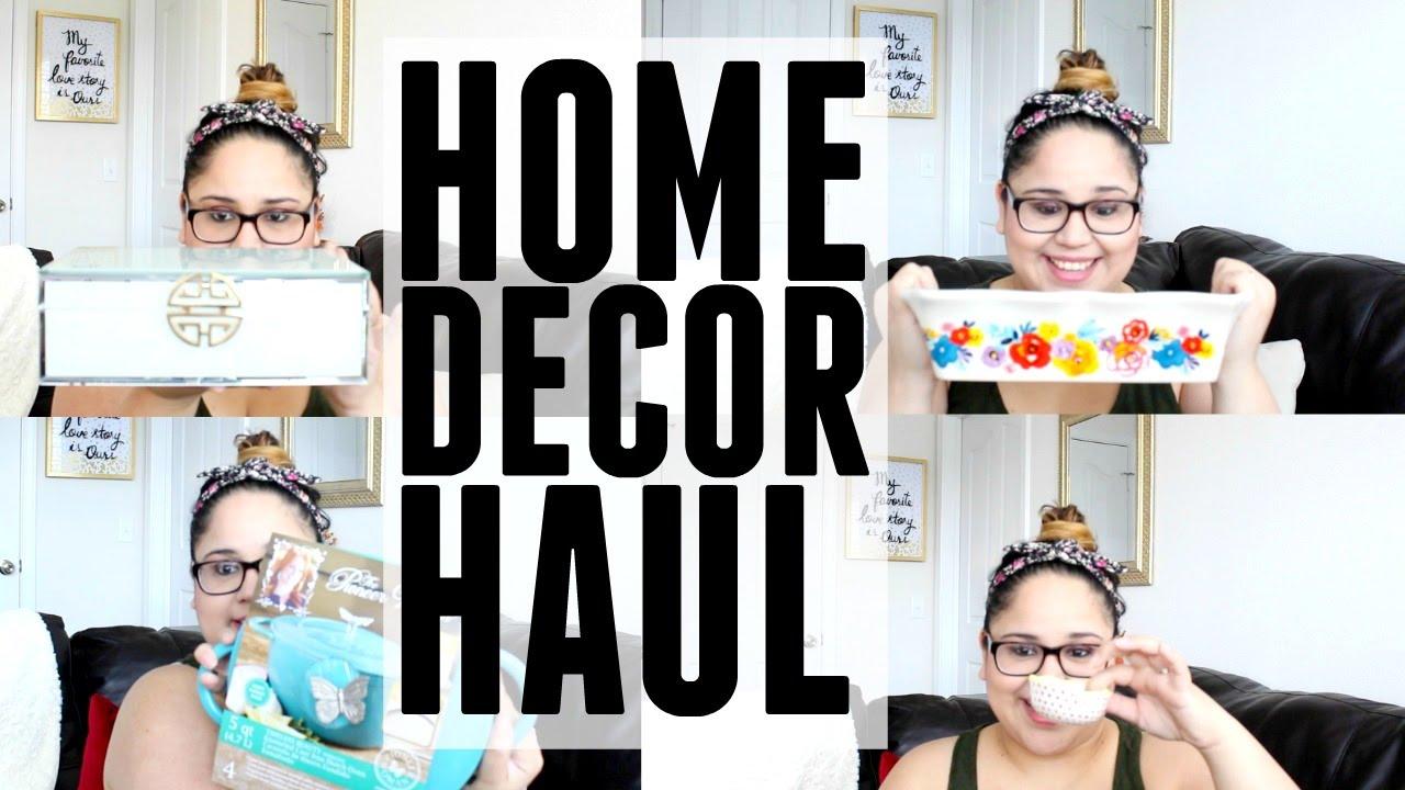 home decor haul the pioneer woman homegoods tjmaxx youtube
