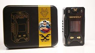 Snowwolf X Feng 230w TC Box Mod Review | Zodiacs???