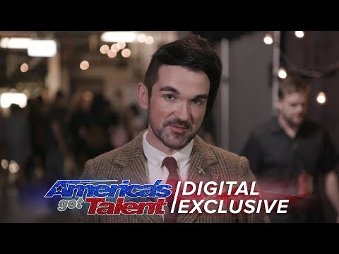 Elimination Interview: Colin Cloud Is Thankful For AGT Journey - America's Got Talent 2017
