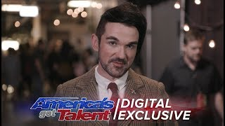 Elimination Interview: Colin Cloud Is Thankful For AGT Journey - America