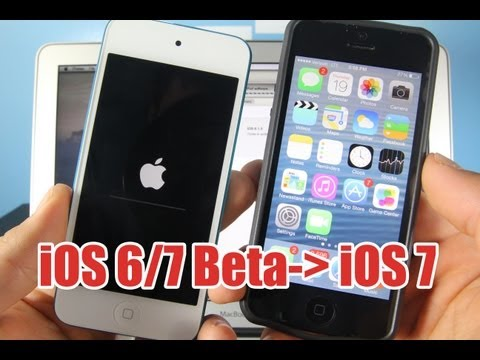 How To Properly Install IOS 7 On IPhone 5/4S/4 IPad 4/3/2/Mini & IPod 5G