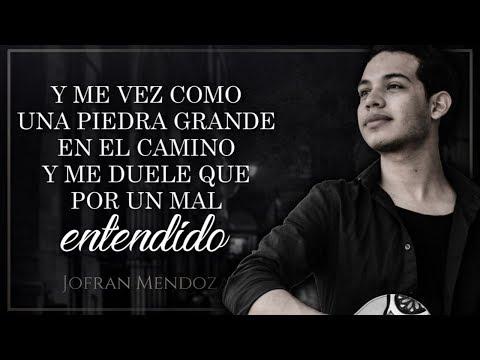 (LETRA) ¨QUE TAL¨ - Jofrán Mendoza (Lyric Video)