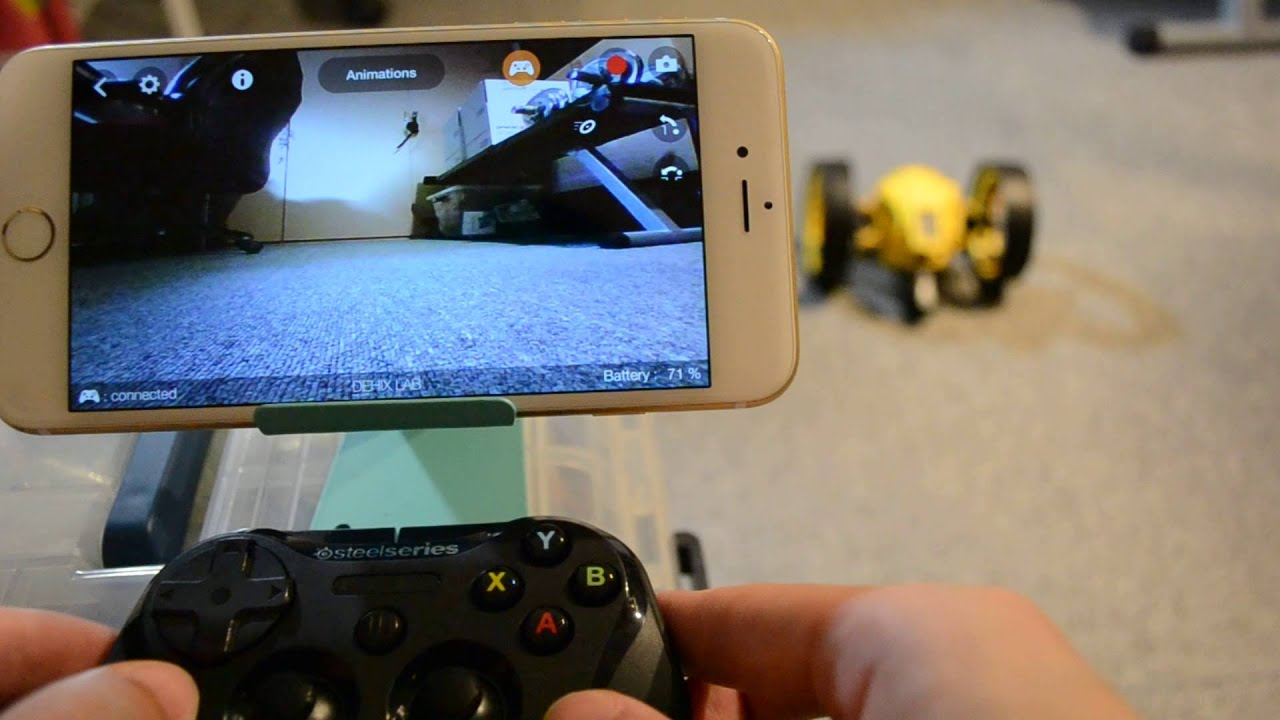 Parrot Jumping Race Drone Gamepad Controller