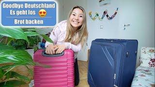 Goodbye Deutschland 🌍 Es geht los! Brot backen - Friss dich dumm | Elisa knuspert | Mamiseelen
