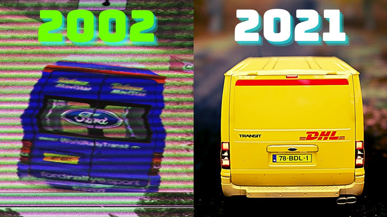 Evolution of the FORD TRANSIT in Games