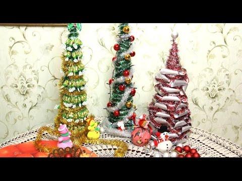 Новогодняя елка из конфет своими руками пошаговое