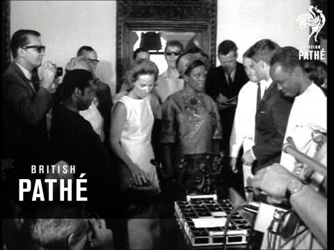 Senator Robert Kennedy Meets President Nyerere In Dar Es Salaam AKA Kennedy With Nyerere (1966)