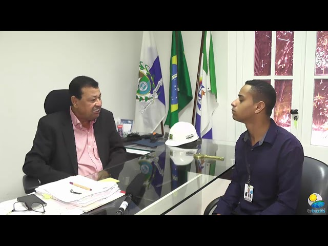 Entrevista com o Prefeito em exercício Henrique Gomes