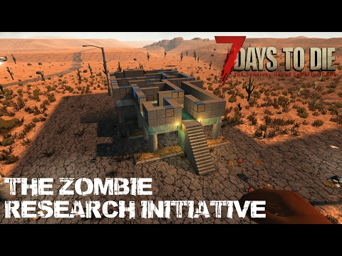 7 Days To Die (Alpha 15.2) - The Zombie Research Initiative (Day 288)